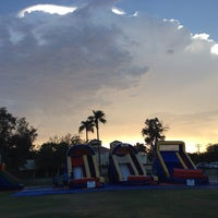 Photo taken at Crummett Park by Cindy L. on 7/26/2014