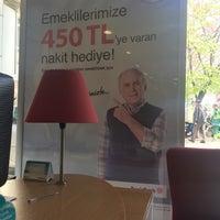 Photo taken at DenizBank by Gonca E. on 4/19/2017