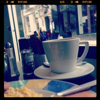 Photo taken at Cappuccino Bar by Ken T. on 2/13/2014