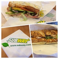 Photo taken at Subway by erwin w. on 3/27/2014