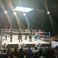 Photo taken at Arena Adolfo Lopez Mateos by Alonso R. on 9/18/2016
