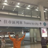 Photo taken at MTR Airport Station by Igor M. on 1/19/2013