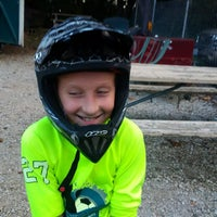 Photo taken at St Peters BMX Track by John D. on 8/20/2016