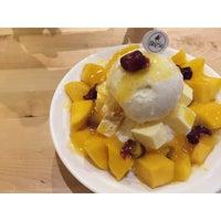 Photo taken at BingSu Café by Hui Ling C. on 6/13/2015