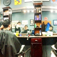 Photo taken at Bedford Barbers by Roland L. on 12/12/2013