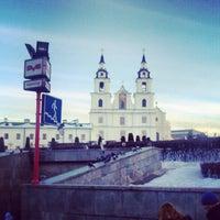 Снимок сделан в Станция метро «Немига» пользователем Andrei K. 12/29/2012