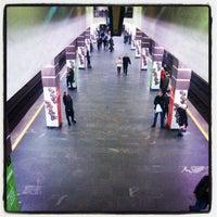 Снимок сделан в Станция метро «Немига» пользователем Andrei K. 1/4/2013