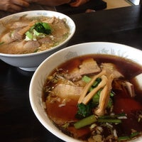Photo taken at 麺道 玄武 by bluefd3s on 9/7/2013
