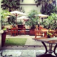 Photo taken at The Dharmawangsa Hotel by Gordon D. on 10/27/2012
