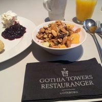 Photo taken at Gothia Towers Breakfast by Alexander H. on 11/17/2012
