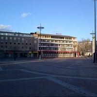 Photo taken at Friedensplatz by Julian W. on 11/25/2012