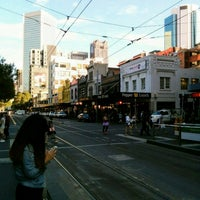 Photo taken at Tram Stop 5 - Melbourne Central (19/57/59) by Julian W. on 3/26/2017