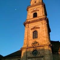 Photo taken at Hugenottenkirche by Julian W. on 9/22/2016
