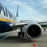 Photo taken at Ryanair Flight FR 8116 by Julian W. on 8/11/2014