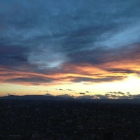 Photo taken at North Observatory, Tokyo Metropolitan Government Building by Kenichi S. on 4/3/2013
