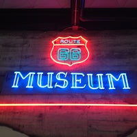 Photo taken at Route 66 Museum by frank s. on 6/10/2013