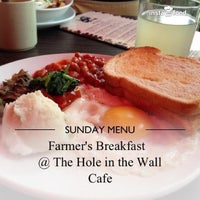 Photo taken at The Hole in the Wall Cafe by Aditya D. on 5/26/2013