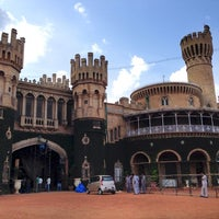 Photo taken at Bangalore Palace by Aditya D. on 8/9/2013