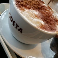 Photo taken at Costa Coffee by 👼Pinar K. on 4/3/2014