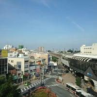 Photo taken at 経堂コルティ 屋上庭園 by ihase on 5/18/2013