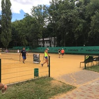 Photo taken at Central Park Tennis Club by Andriy B. on 7/8/2017