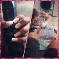 Photo taken at Judy's Nail Salon by @_MsTexas (. on 4/17/2014