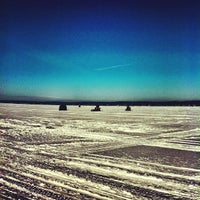 Photo taken at Geneva Lake by Meagan B. on 2/24/2013