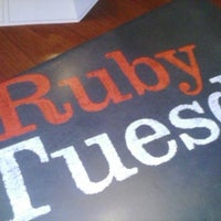 Photo taken at Ruby Tuesday by Reef H. on 2/22/2013