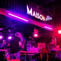 Photo taken at Maison by Lindsay O. on 5/4/2013