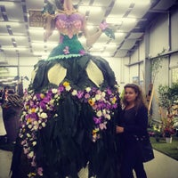 Photo taken at The Floral Fair by Me4onyx on 5/10/2017