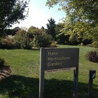 Photo taken at Hahn Horticulture Garden by Lloyd B. on 10/4/2013