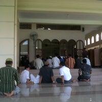 Photo taken at Masjid Sukajadi by Alan aksan on 8/23/2013