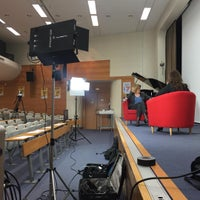 Photo taken at Télécom SudParis by Clément P. on 4/12/2016