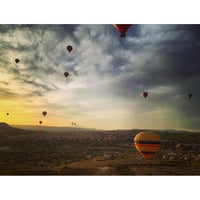 Photo taken at Ürgüp Hot Air Balloons by Dmitry Z. on 5/9/2013
