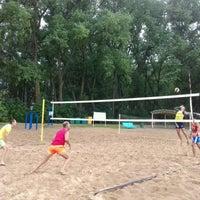 Photo taken at Волейбольная площадка by Liza D. on 8/14/2016