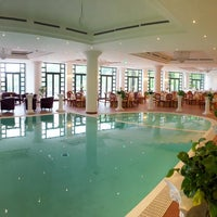 Photo taken at Grand Hotel Terme RosaPepe by Pasquale D. on 4/24/2016
