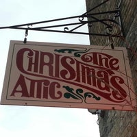 Photo taken at The Christmas Attic by Jason H. on 9/27/2013 ... & The Christmas Attic - Christmas Market in Alexandria