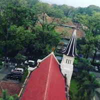 Photo taken at Kapel Hati Kudus Yesus by Deekey デイツキー A. on 1/6/2017