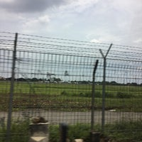 Photo taken at Pondok Cabe Airport (PCB) by Doni H. on 4/2/2017