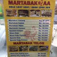Photo taken at Martabak AA by Doni H. on 4/19/2017