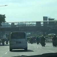 Photo taken at Jalan Jenderal Gatot Subroto by Doni H. on 11/6/2017