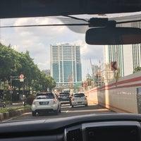 Photo taken at Jalan H.R. Rasuna Said by Doni H. on 12/9/2017