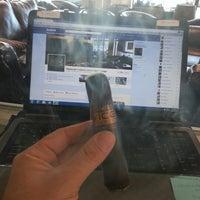 Photo taken at Shamrock Custom Luxury Cigar Lounge by Ralph B. on 10/16/2012