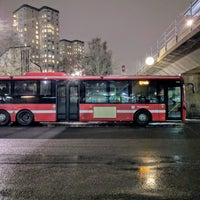 Photo taken at Farsta Busstorg (B) by Daniel S. on 12/18/2017