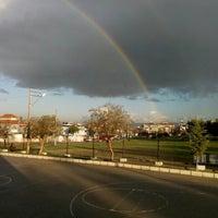 Photo taken at Dedeoğlu Ortaokulu by Ezgi K. on 1/14/2016