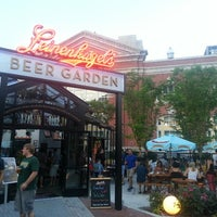 Photo taken at Leinenkugel's Beer Garden by Paul B. on 6/22/2013