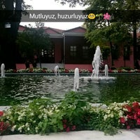 Photo taken at Bezmialem Vakıf Üniversitesi Havuzlu Bahçe by Çiğdem Ş. on 10/15/2015