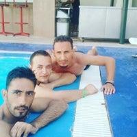 Photo taken at Tuntas Hotel Swimming Pool by yılmaz A. on 7/12/2016