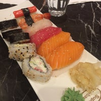 Photo taken at Super Sushi by Vozыkova on 9/23/2016
