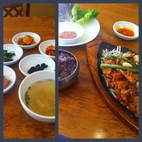 Photo taken at Sura Korean Restaurant by J D. on 4/12/2013